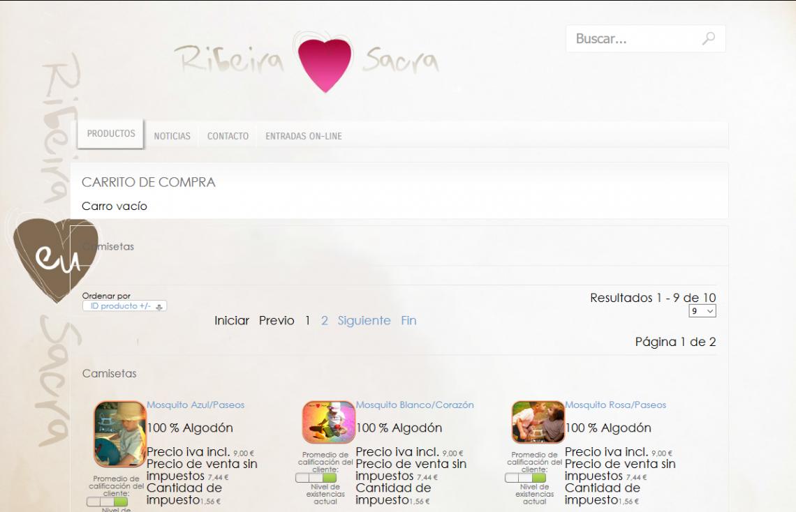 Imagen de la web de CT Ribeira Sacra