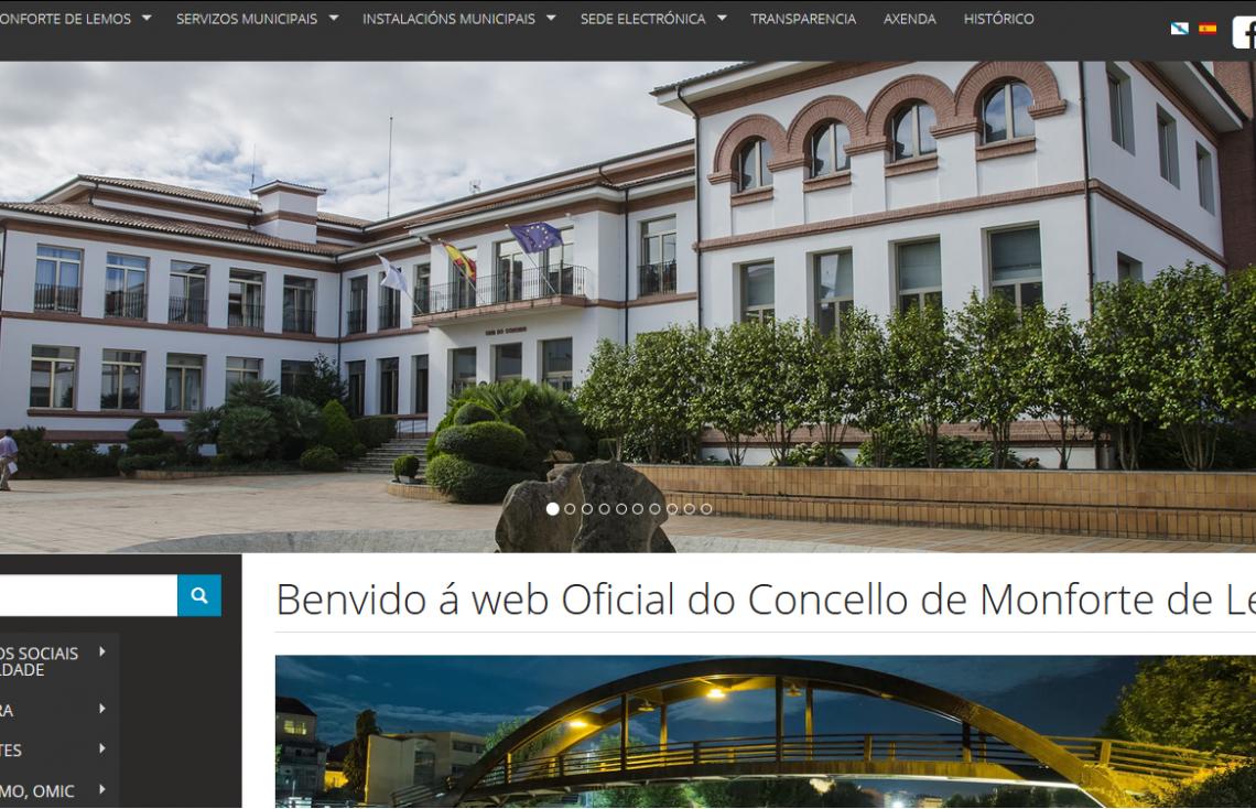 Imagen web Ayuntamiento de Monforte